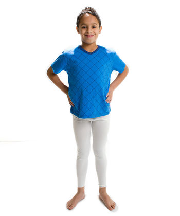 Leggings in silk for boys and girls