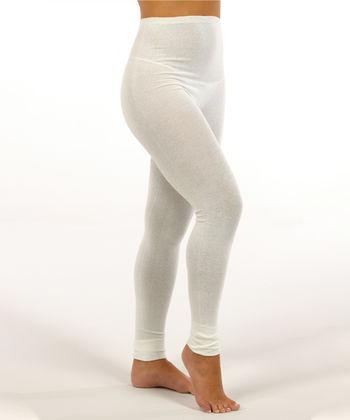 Leggings in silk for women