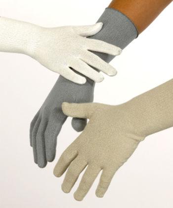 Gloves in viscose for men