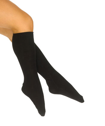Therapeutic knee sock in viscose for women