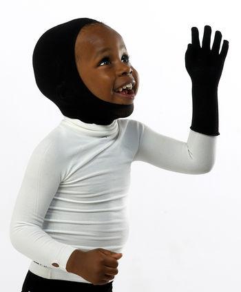 Gloves (full 5-digit) in WEB for boys and girls