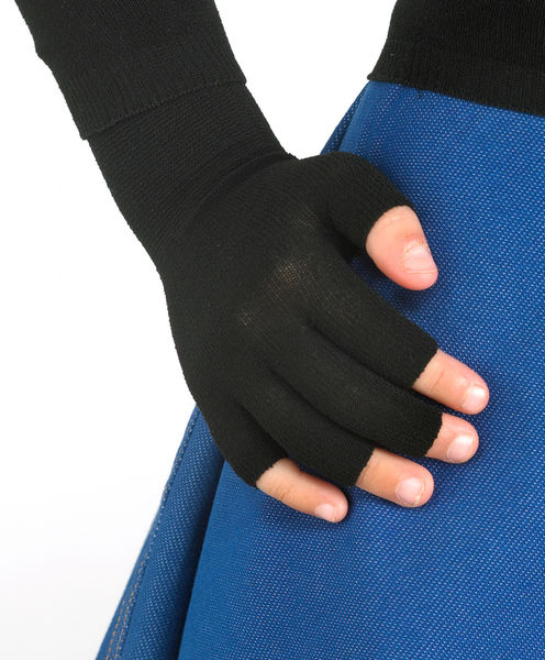 Gloves (half 5-digit) in WEB for boys and girls