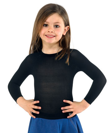 Long Sleeved Round Top in WEB for boys and girls
