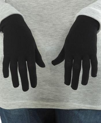 Gloves (full 5-digit) in WEB for women