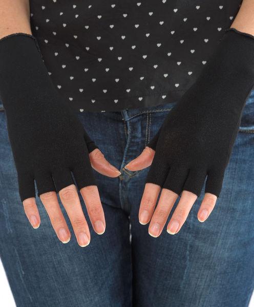 Gloves (half 5-digit) in WEB for women